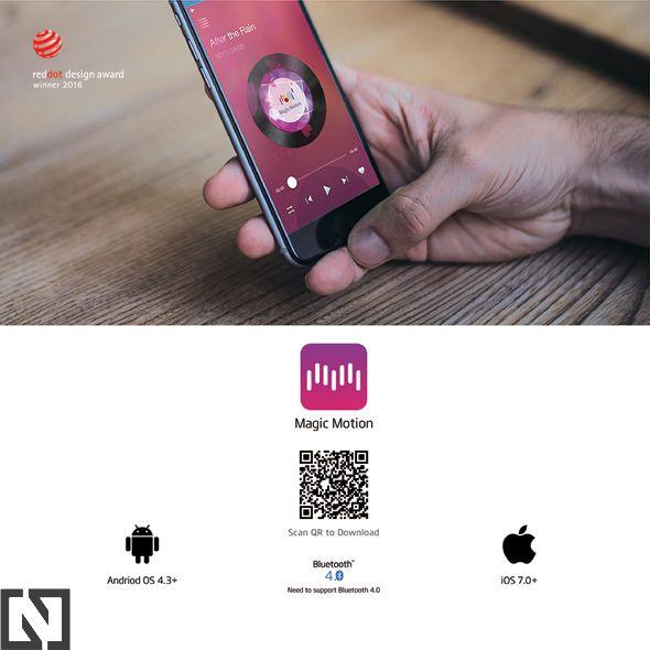 Magic Motion Flamingo wibrująca kulka z aplikacją na telefon