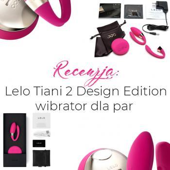 Lelo Tiani 2 Design Edition wibrator dla par