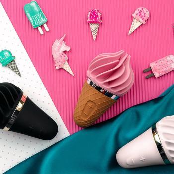 Satisfyer Lay-On Sweet Temptation: obrotowe stymulatory łechtaczki w kształcie loda!