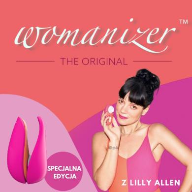 Womanizer Liberty by Lily Allen bezdotykowy masażer łechtaczki