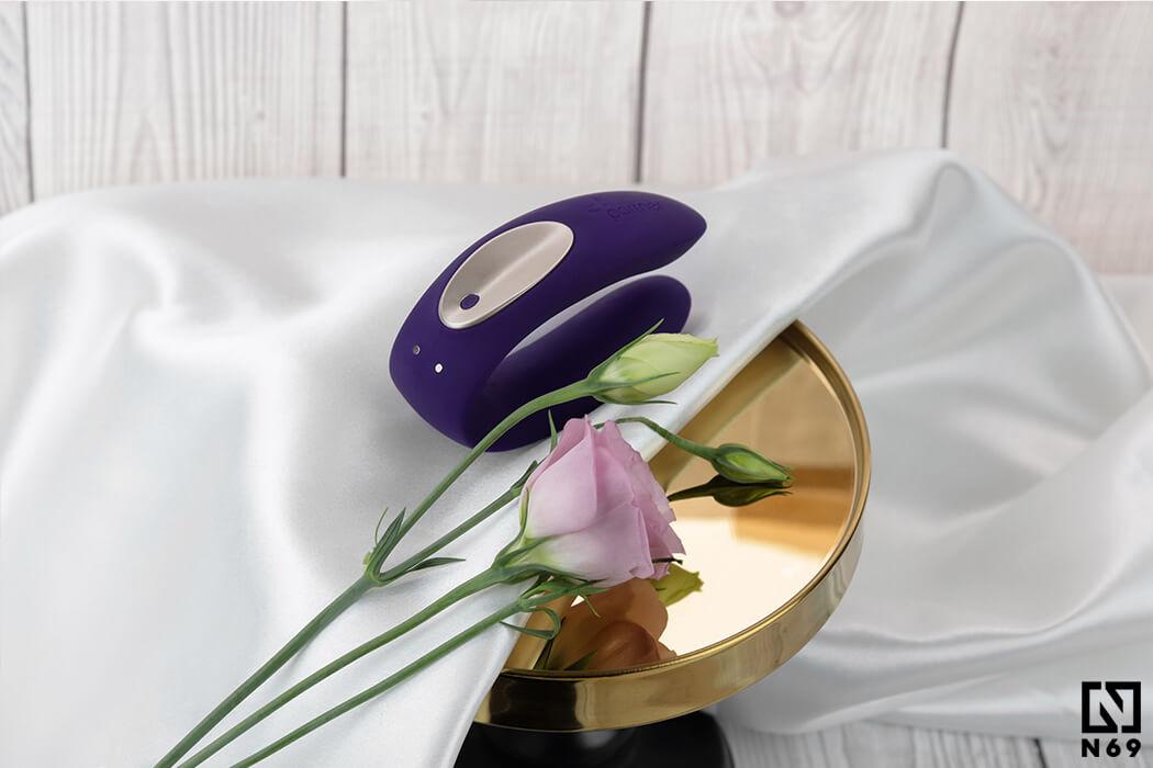 fioletowy-partner-plus-remote-wibrator-dla-par-sterowany-pilotem