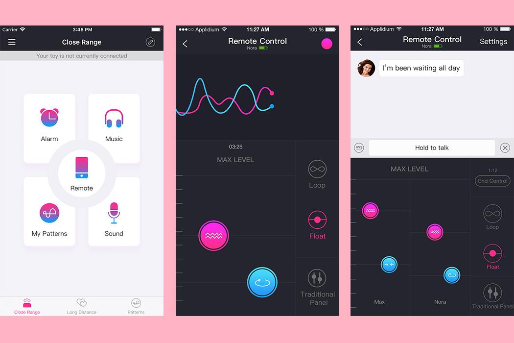 lovense lush 2 aplikacja na telefon działanie