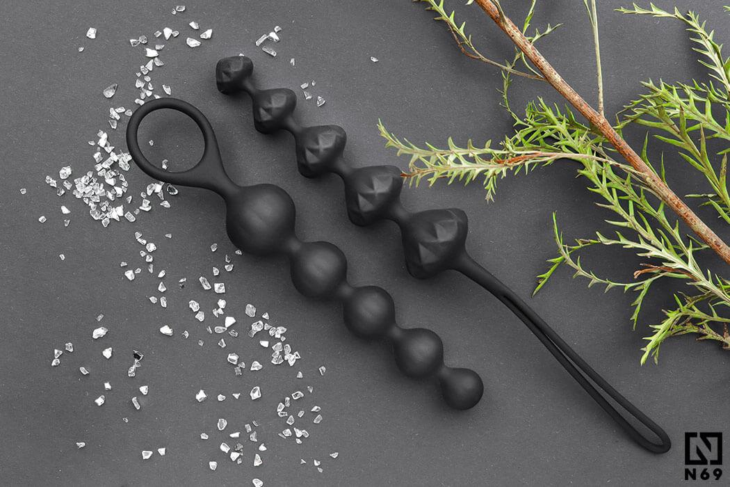 satisfyer beads zestaw koralików analnych