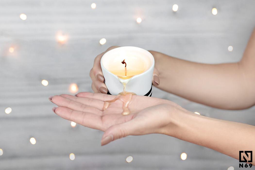 petits-joujoux świeca do masażu