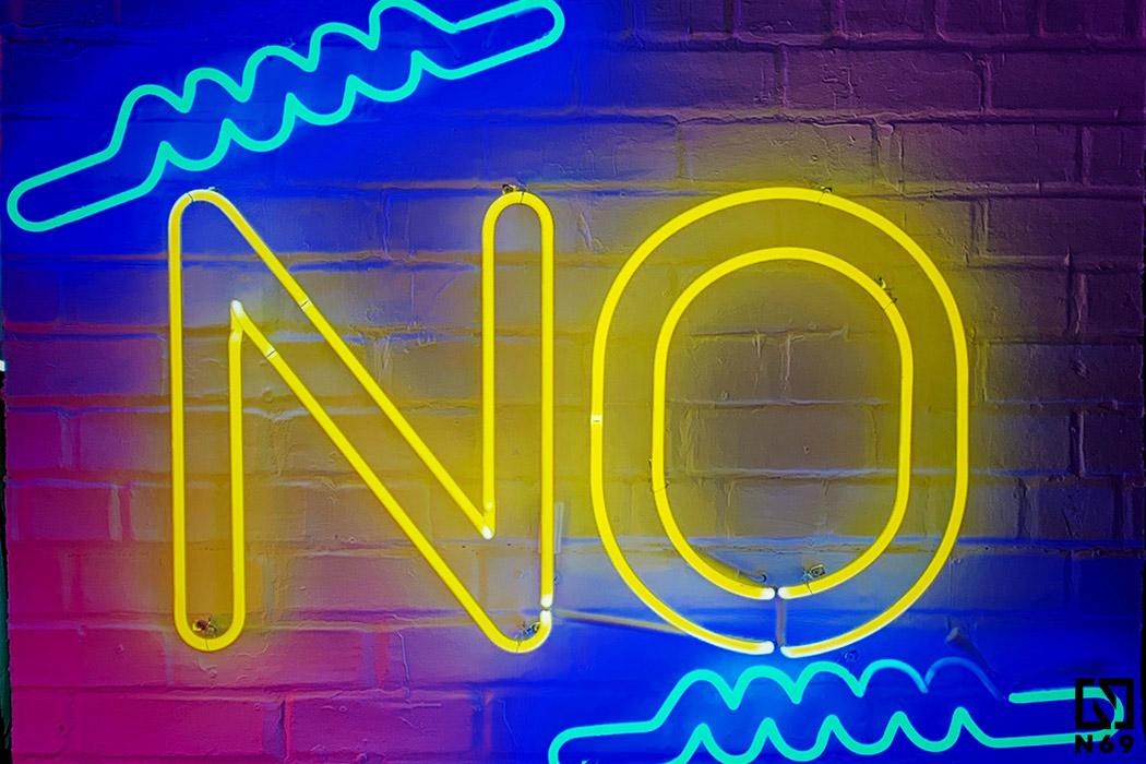 sztuka mówienia nie a seks