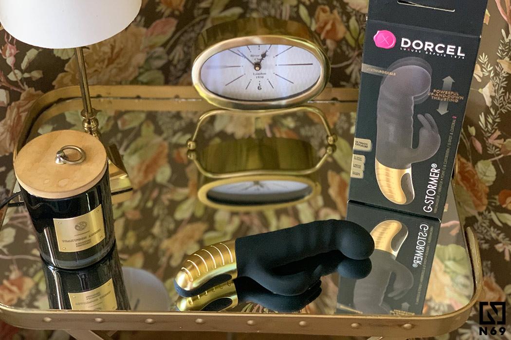 dorcel g-stormer wibrator pulsator