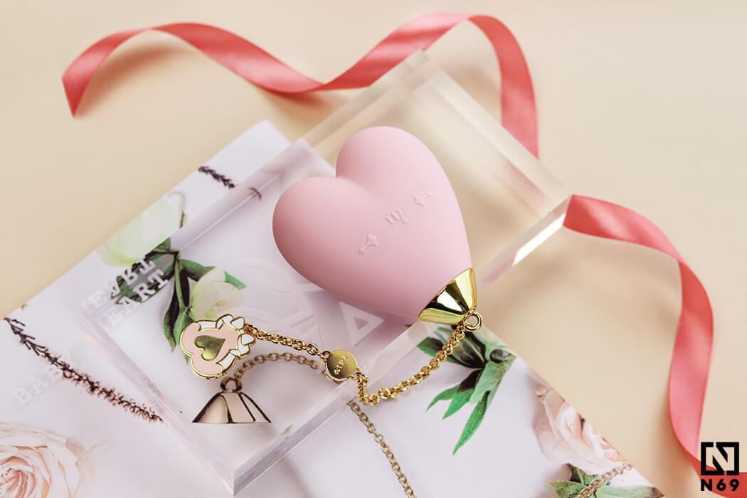 zalo baby heart pink