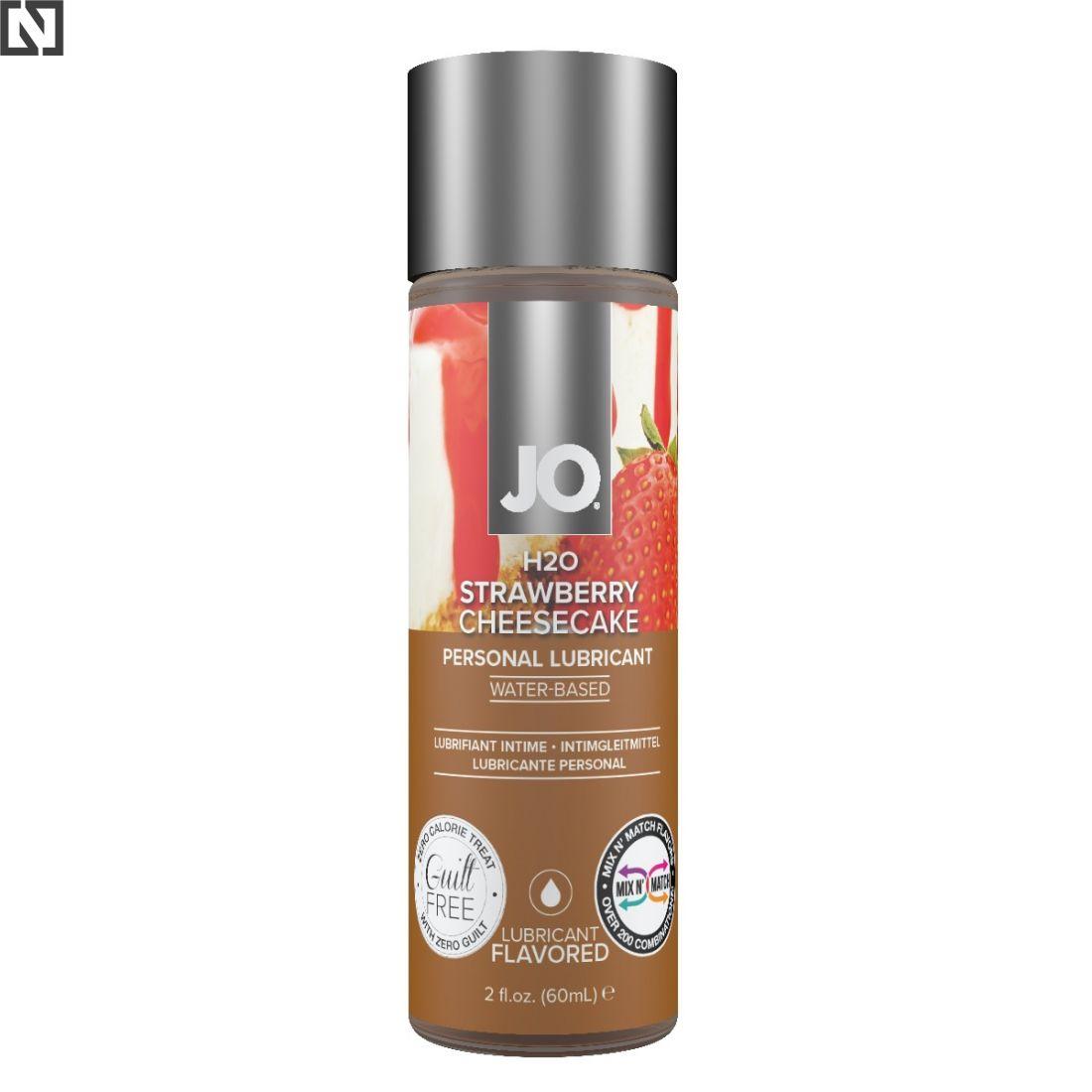 System JO Limited Edition loibrykant na bazie wody o smaku sernika truskawkowego
