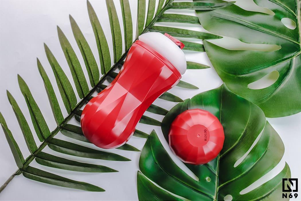 Tenga Air-Tech Squeeze czerwony masturbator