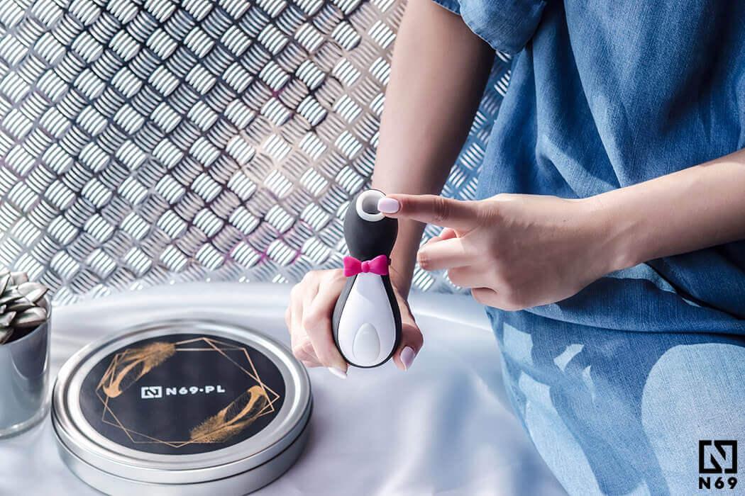 Satisfyer Pro Penguin Next Generation bezdotykowy masażer łechtaczki