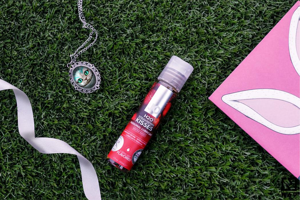 System JO H2O strawberry kisses lubrykant smakowy