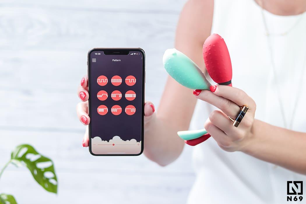 wibrujące kulki i telefon