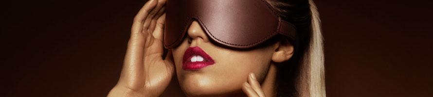 BDSM opaski i maski na oczy