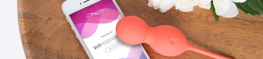 Wibrujące kulki sterowane smartfonem