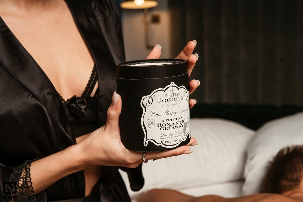 świeca do masażu erotycznego