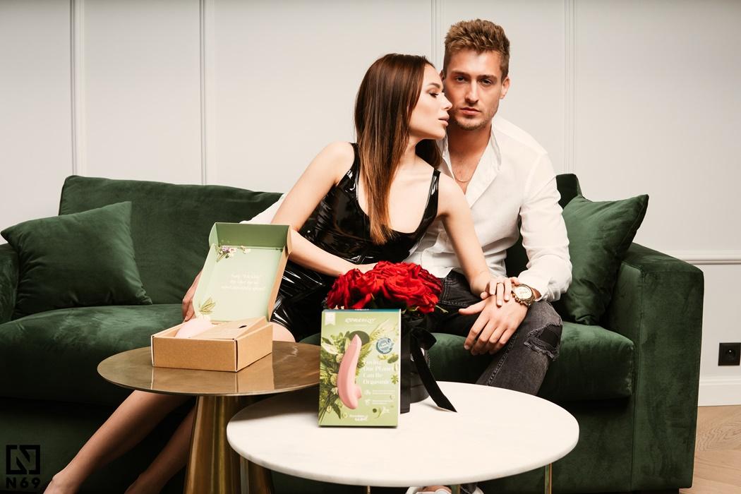 5585 Womanizer Premium eco bezdotykowy masażer łechtaczki